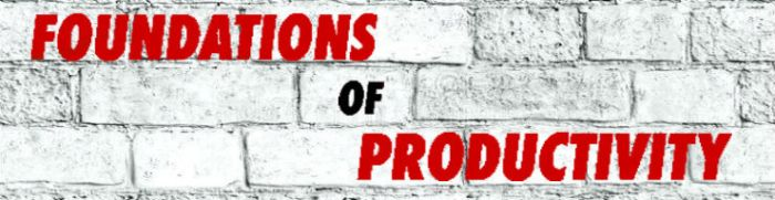Foundations of Productivity Logo